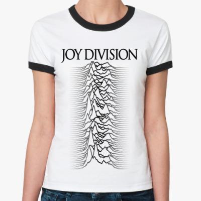 Женская футболка Ringer-T  Joy Division