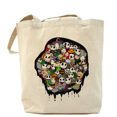 Сумка Nightmare Холщовая сумка