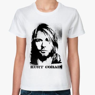 Классическая футболка Кобейн