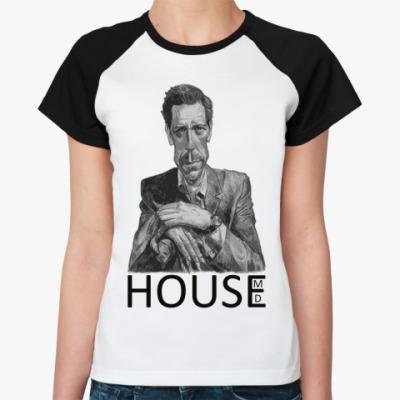 Женская футболка реглан House pencil