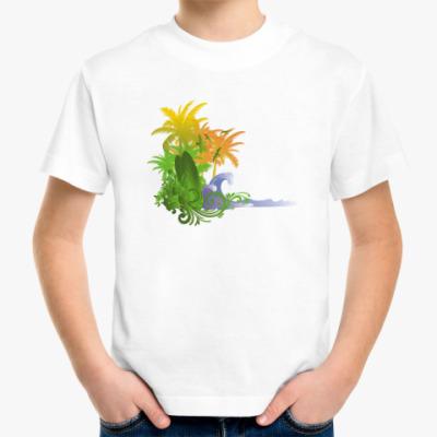 Детская футболка  Beach