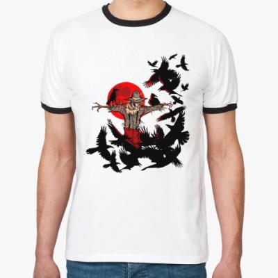 Футболка Ringer-T Пугало  М()