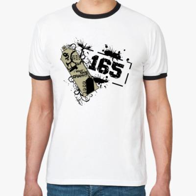 Футболка Ringer-T Graffiti 165