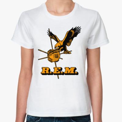 Классическая футболка R.E.M.