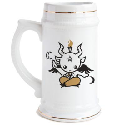 Пивная кружка Бафомет