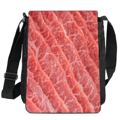 Сумка-планшет Мясо Декстер