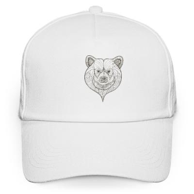 Кепка бейсболка Голова медведя
