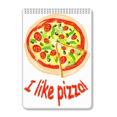 Блокнот Пицца!