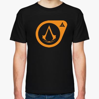 Футболка Half-Life Assassin's Creed