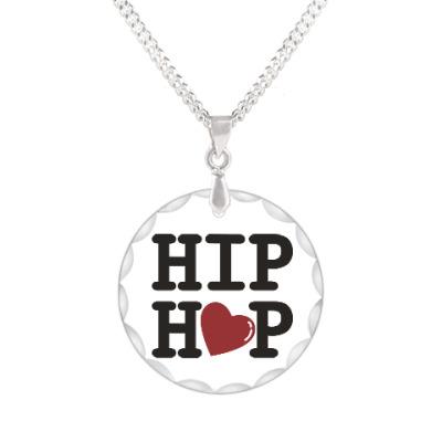 Кулон Люблю хип-хоп