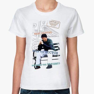 Классическая футболка   Хаус псих
