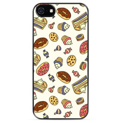 Чехол для iPhone Пирожные