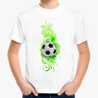 Детская футболка Футбольный мяч