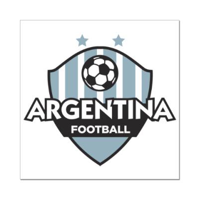Наклейка (стикер) Футбол Аргентины
