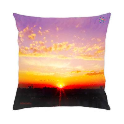 Подушка Жаркий закат