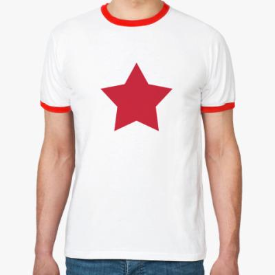 Футболка Ringer-T Star