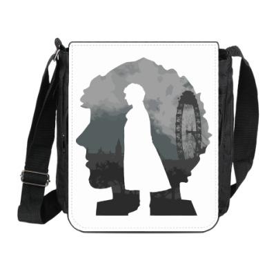 Сумка на плечо (мини-планшет) Sherlock city