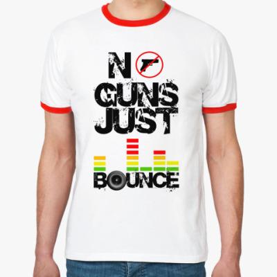 Футболка Ringer-T No Guns