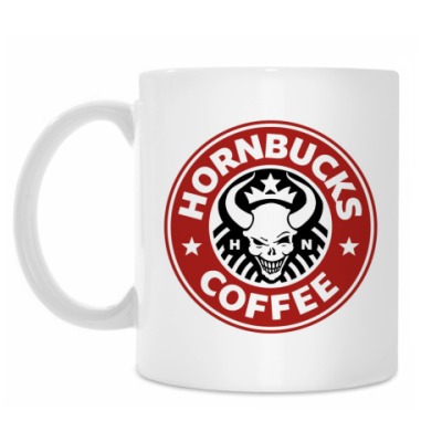 Кружка Hornbucks mug