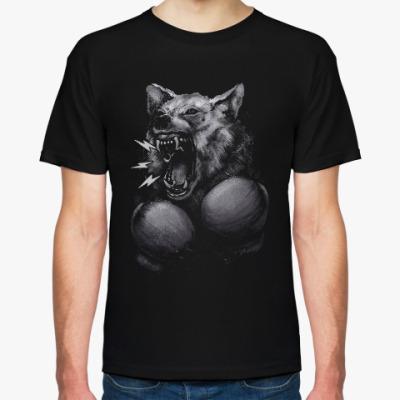 Футболка Волк Боксёр