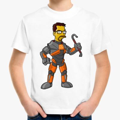 Детская футболка Half-Life (Симпсоны)