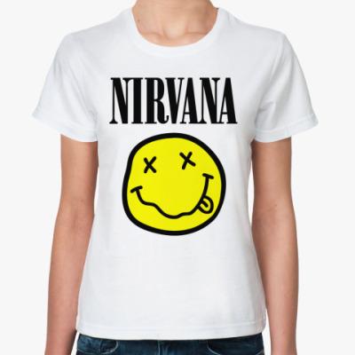Классическая футболка Nirvana