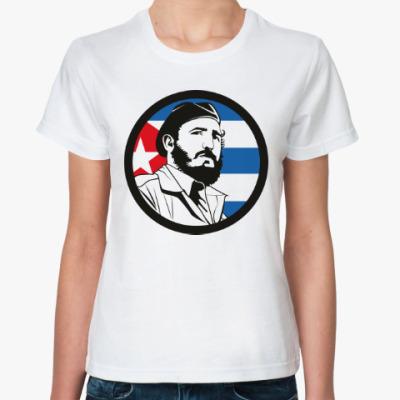 Классическая футболка Фидель Кастро