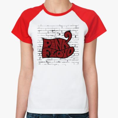 Женская футболка реглан Pink Floyd