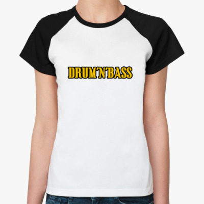 Женская футболка реглан Драмэндбасс