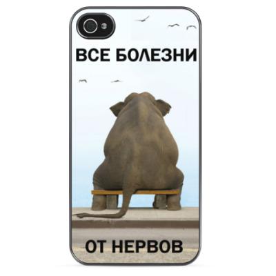 Чехол для iPhone 'Спокойствие'