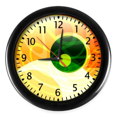 Настенные часы Зеленоглаз