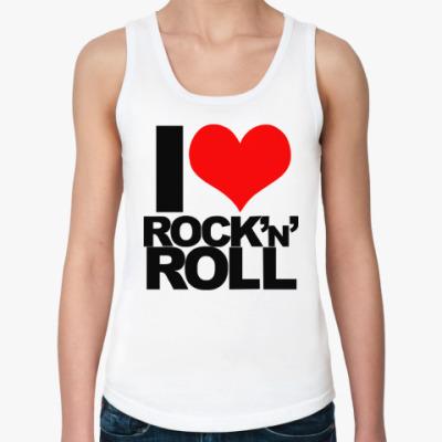 Женская майка rock'n'roll