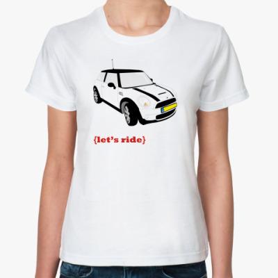 Классическая футболка mini cooper