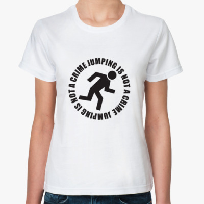 Классическая футболка Jumping