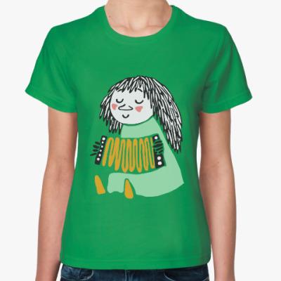 Женская футболка мюмла из муми-дола