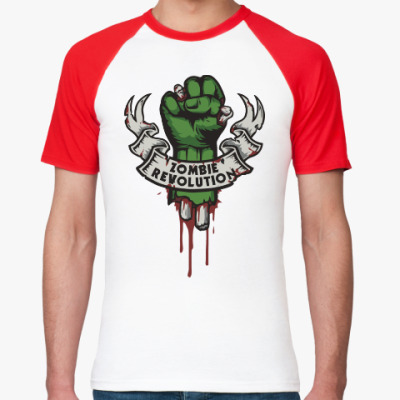 Футболка реглан Революция Зомби