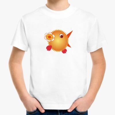 Детская футболка Цыпленок