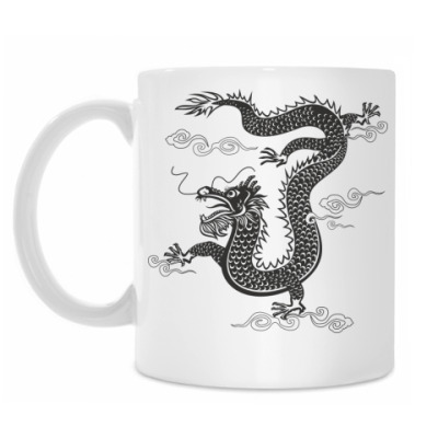 Кружка Китайский дракон