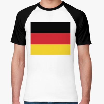 Футболка реглан Deutschland