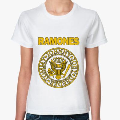 Классическая футболка Ramones yell