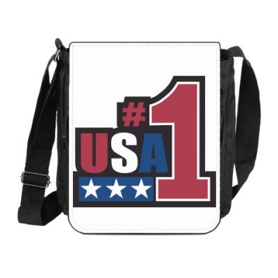 Сумка на плечо (мини-планшет) USA 1