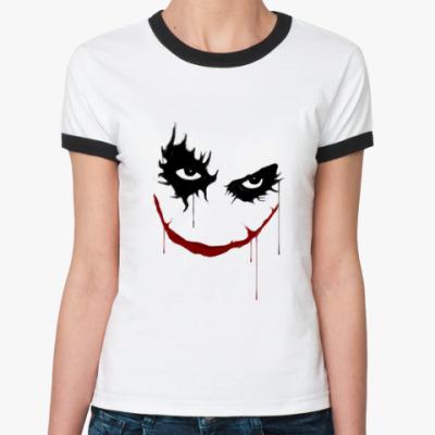 Женская футболка Ringer-T Joker