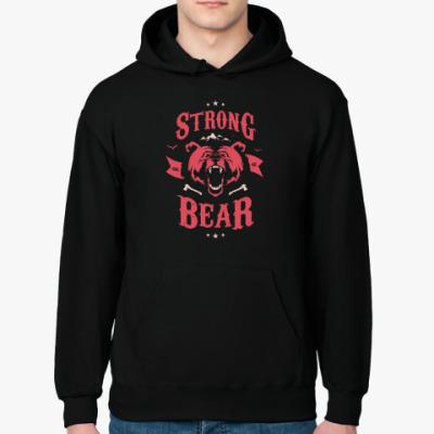 Толстовка худи Оскал медведя