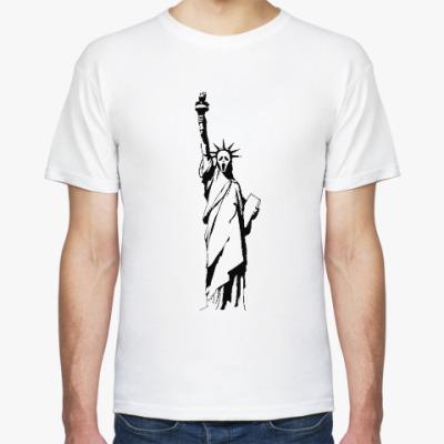 Футболка Statue of Liberty Scream, Статуя Свободы Крик