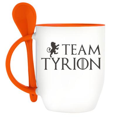 Кружка с ложкой Команда Тириона