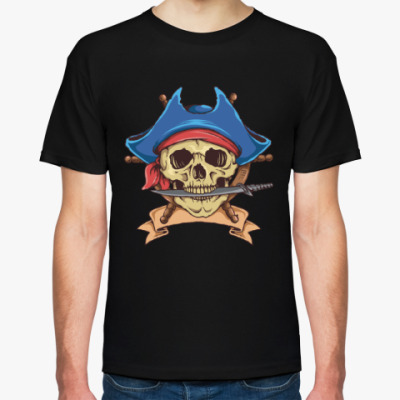 Футболка Море. Пират.