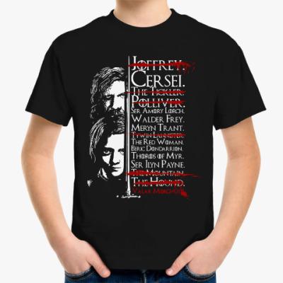 Детская футболка Игра престолов. Джон Сноу