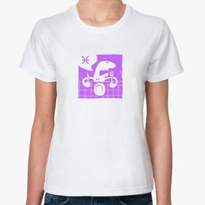Классическая футболка Рыбы