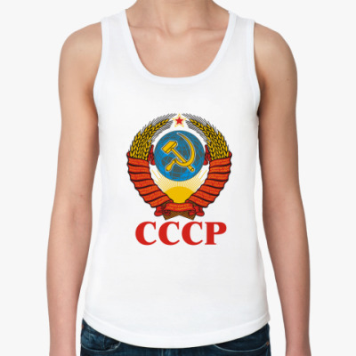 Женская майка  СССР