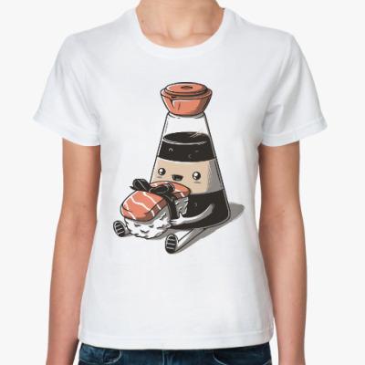 Классическая футболка Суши и роллы